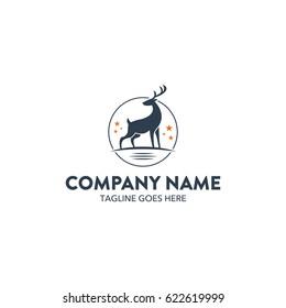 Unique Deer Logo