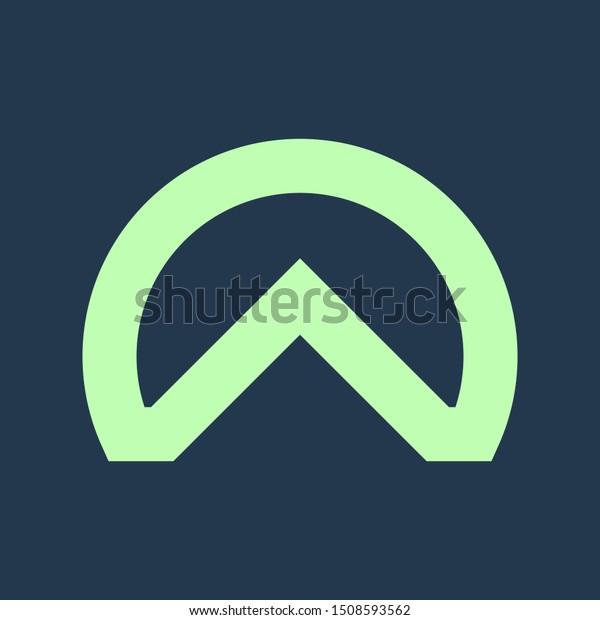 Unique Home Vector Logo Design Stock Vector (Royalty Free) 1508593562