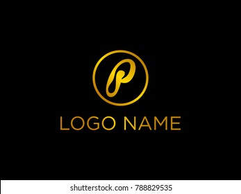 Unique logo by putting a slipper shoes on empty space letter P.  Suitable for any industry.