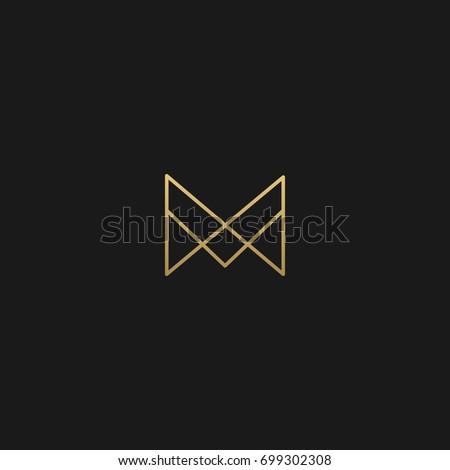 vetor stock de unique modern creative elegant geometric fashion