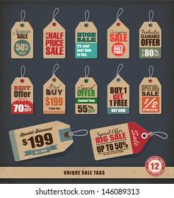 Unique Sale Tags