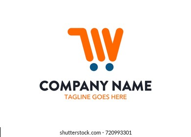 Unique Shopping And Retail Logo Template