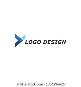 unique and simple letter Y logo vector