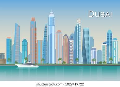 United Arab Emirates Dubai Cityscapes