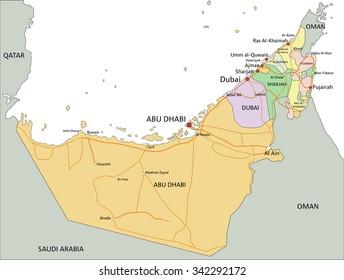 1000+ Map Dubai Abu Dhabi Pictures | Royalty Free Images, Stock ...