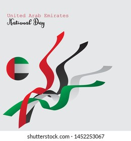 United Arab Emirates National Day, can be used for greting card, poster or banner