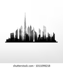 United Arab Emirates sky-city skyline buildings