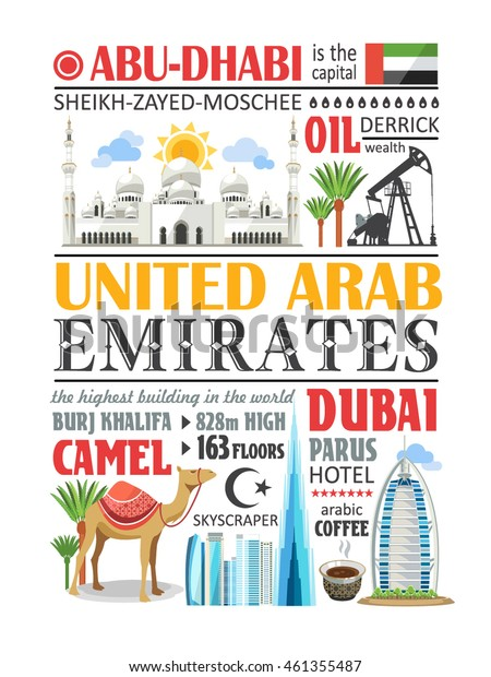 United Arab Emirates text info paragraph
