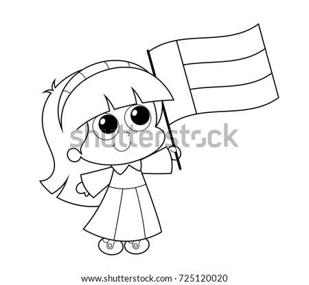 United Arab Emirates UAE National Day Celebration Coloring Page