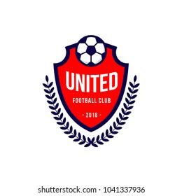 United Football Club Logo Vector Template Design