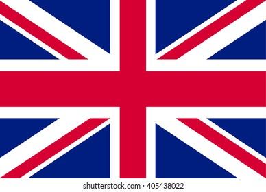 United Kingdom or England , UK Flag. Vector illustration flag , Symbolic that represent to United Kingdom,UK. For several concept and occasional (National Day,Sport,Currency,Travel,etc.)