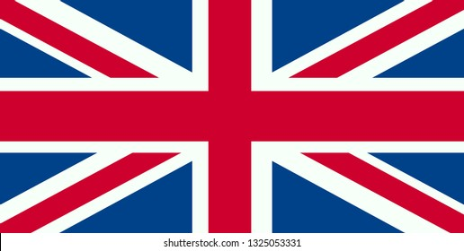 United Kingdom Flag. Flag of the Great Britain, British flag, Union Jack,