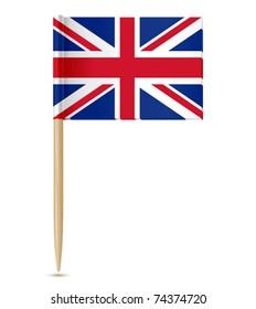 united kingdom flag toothpick