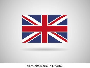 United Kingdom flag.vector eps10 illustration.