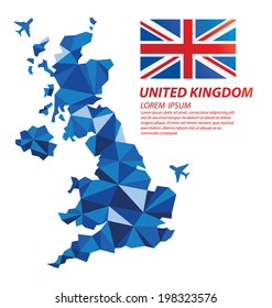 United Kingdom geometric concept design