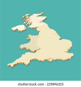 3d Map Of England.Uk Map 3d Images Stock Photos Vectors Shutterstock