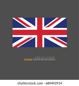 United Kingdom  national flag background texture.vector illustration.