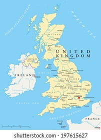 Map Of Uk With Rivers.Ilustraciones Imagenes Y Vectores De Stock Sobre Uk Map