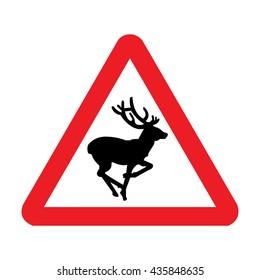 United Kingdom Wild Animals Sign
