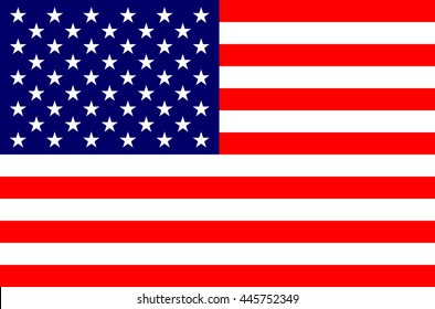 United State of America USA flag background vector illustration