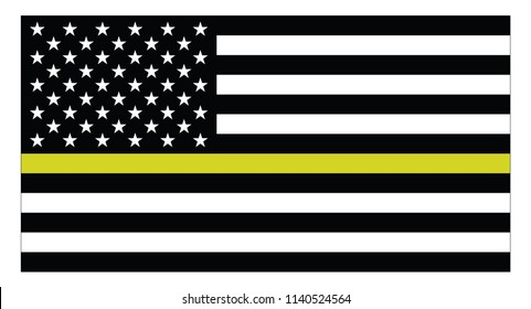 United states of America dispatchers flag