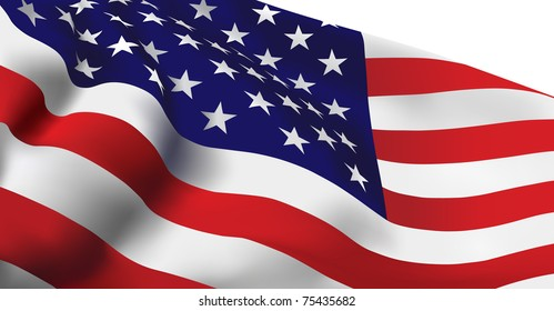 United States of America flag VECTOR