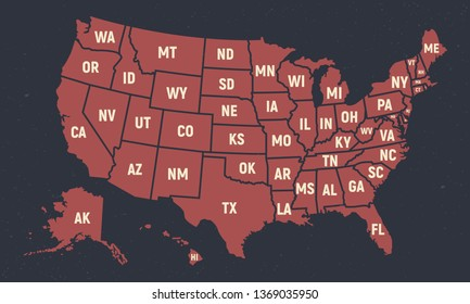 United States Cities Map Images, Stock Photos & Vectors ...