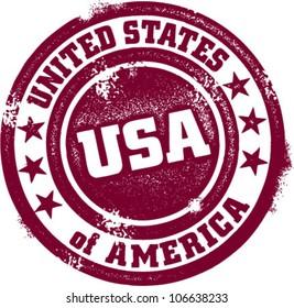 United States of America USA Vintage Stamp