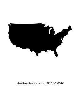 United States icon vector. USA symbol vector illustration