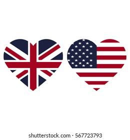 united states and united kingdom fkag hearts
