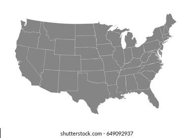 United States national map