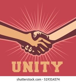 Unity concept illustration