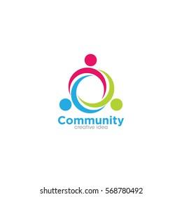 Unity Creative Concept Logo Design Template