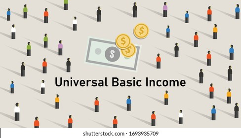 Universal basic income UBI is government guarantee for citizen to receive a guaranteed minimum income.