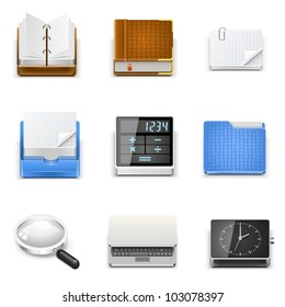 universal document office vector icons