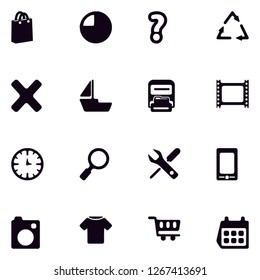 Universal miscellaneous sings lineal solid filled glyph icon set EPS 10 vector format. Transparent background.