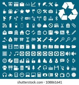 UNIVERSAL VECTOR ICONS FOR WEB AND MOBILE