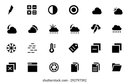 Universal Web and Mobile Vector Icons 5