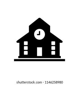 university building vector icon
