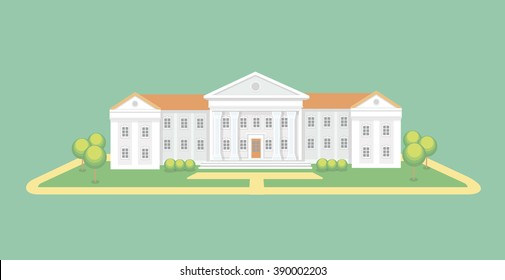 College Campus Cartoon High Res Stock Images Shutterstock