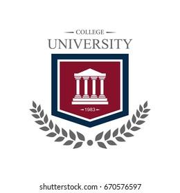 University education logo design