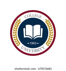 University education logo design