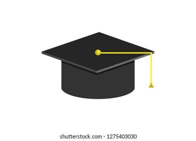 University graduation cap.