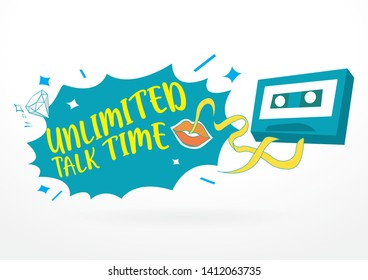 Unlimited Talk Time Masthead Design