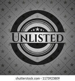 Unlisted realistic black emblem