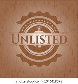 Unlisted retro wood emblem