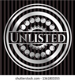 Unlisted silvery badge