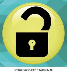 Unlock icon.