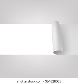 Unstuck paper background. vector