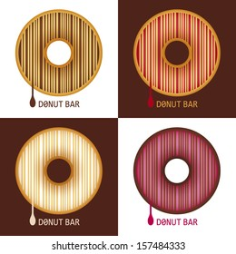 Unusual Barcode Donuts
